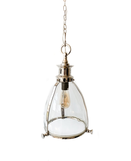 Hanging lamp glass