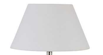 Shade canvas white round  45 Cm Lugano