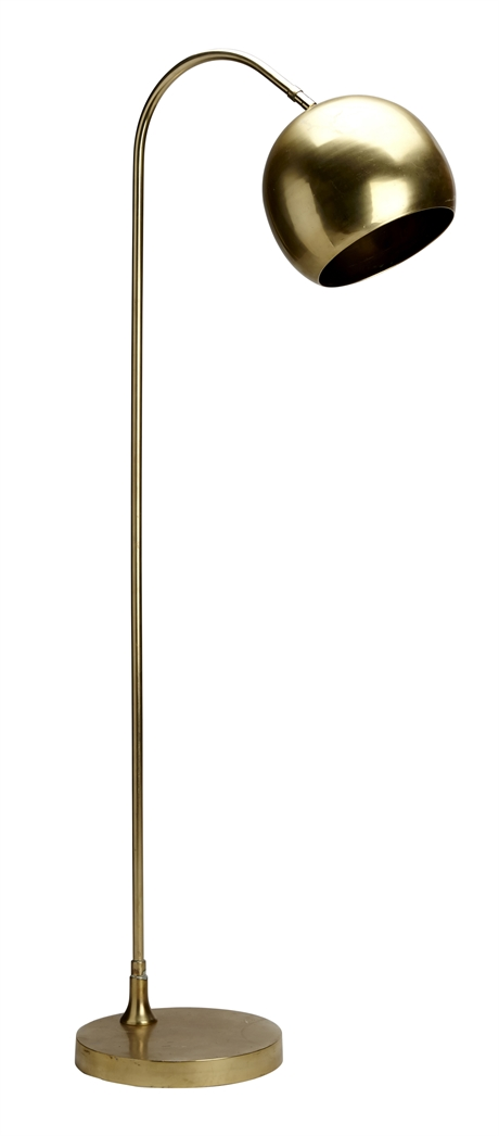 Floorlamp Globe Gold