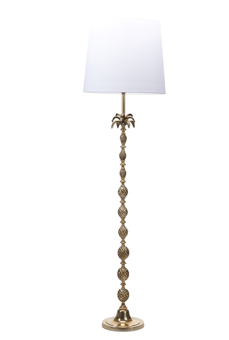 Les Salins Floor Lamp Brass