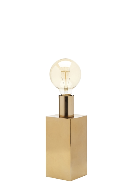 Lamp Base Edison Gold