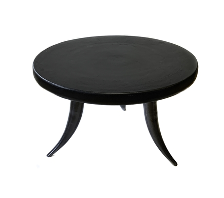 Table Texas Top matt Black/Leg Oxy Black