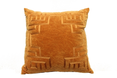 Cushion Orange Velvet