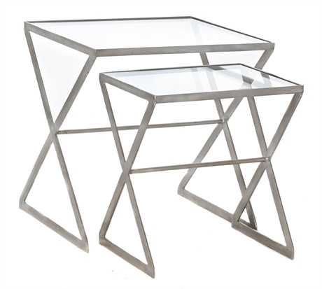 Iron Set Nesting X-Tables