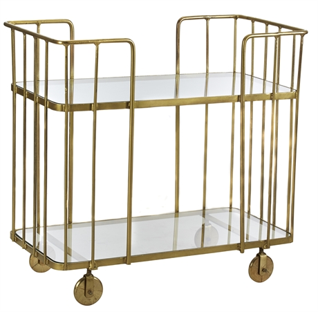 Gold Iron Wire Trolley