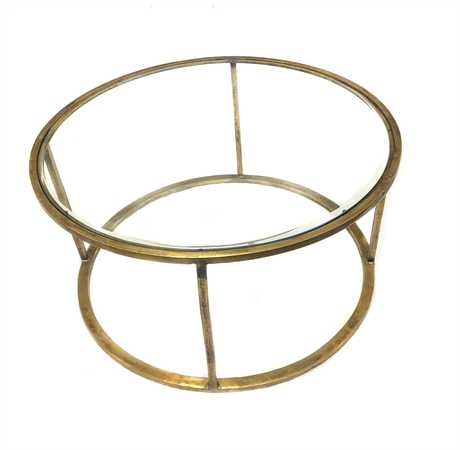Round table ant gold