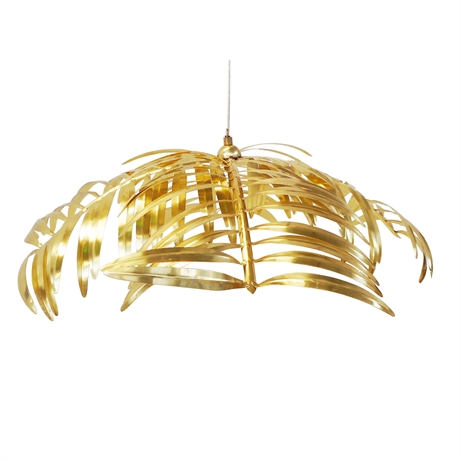 Palm Leaf Hanging Lamp