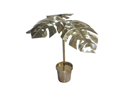 Monstera Flower Pot Lamp