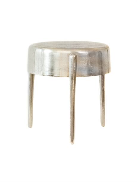 Sidetable Three Legs Silver
