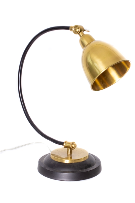Gold and Black Table Lamp
