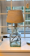 Glass lamp clear