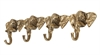 Elephant Hook Brass Antique
