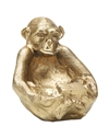 Monkey Dish Gold