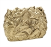 Flower Vase Embossed Gold