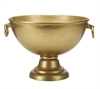 Bowl 2 Handled  Gold