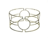 Iron Circle Round Coffee Table