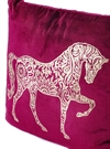 Mandala horse Red w gold print