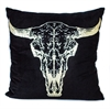 Old bull black w gold print