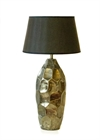 Table lamp antique finish