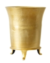 Flower Vase raw gold