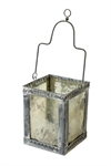Lantern Iron With Antique Silver